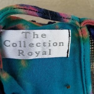 The Collection Royal Tops - Cali Kind Tie dye festival top